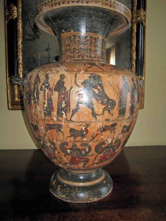 A tarquinia mostra sui falsi etruschi d 39 epoca for Vaso attico